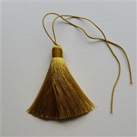 Photo of Pure Silk Gold Tassel