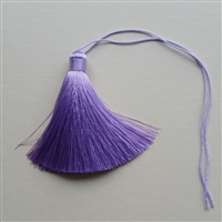 Photo of Pure Silk Lavender Tassel