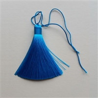 Photo of Pure Silk Turquoise Tassel