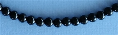 Photo of 6mm Black Onyx Beads