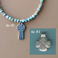 Photo of The Celtic Cross of Connemara Necklace Kit