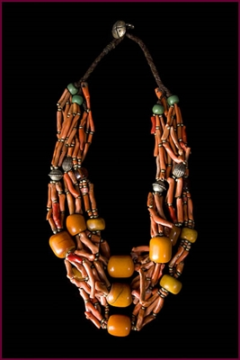 Berber Ceremonial Necklace, Circa 1800