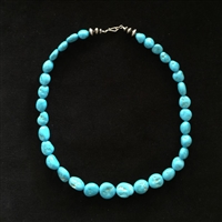 "Photo of Sleeping Beauty Turquoise Necklace, 19"" Long"