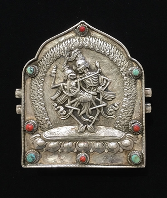 Photo of Tibetan Prayer Box, 18th Century