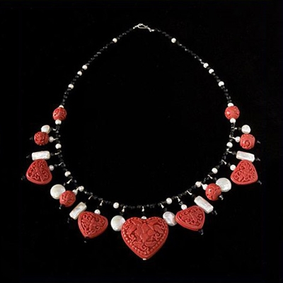 Cinnabar Love Charm Necklace Kit
