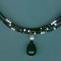 Black Swan Necklace Kit