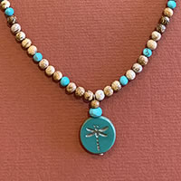 Photo of The Dragonfly's Dream Necklace Kit