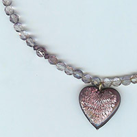 Purple Heart Necklace Kit