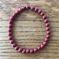 Photo of 6mm Red Jasper Bracelet Kit