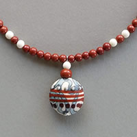 Photo of Apples in the Orchard Necklace Kit