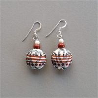 Photo of Apples in the Orchard Earrings Kit