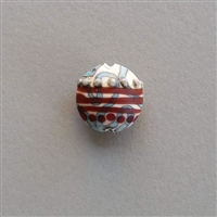 Photo of 18mm Rounded Flat Lentil-shaped AZ Glass Focal Bead