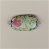 Blooming Prickly Pear Focal Bead - looped