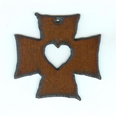 Cross My Heart Pendant