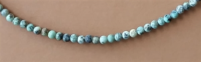 Photo of 4mm round African Turquoise Jasper