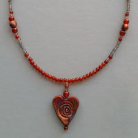 Photo of Hearts Afire Necklace Kit