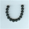Black Onyx - 6mm matte finish