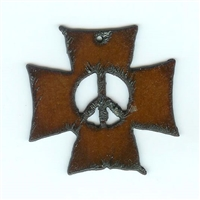 Peace Cross Pendant