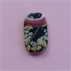 Rose in Spanish Harlem Focal bead - large