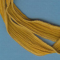 Mustard Custard Silk Ribbon