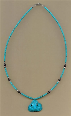 Zuni Frog Fetish Necklace Kit
