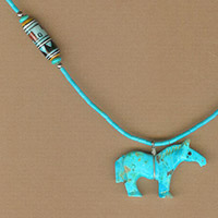 Zuni Turquoise Horse Necklace Kit