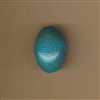 Bead-Porcelain 20x27mm large oval