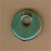 Bead-Porcelain 1-3/8x1-1/2 in. Pendant