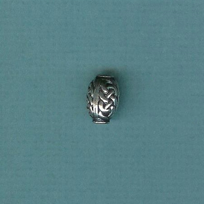 Bead-Celtic 10x14mm oval