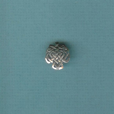 Celtic Knot-Heart Charm