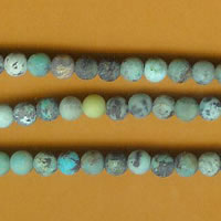 photo of Matte Finish African Turquoise - 4mm round