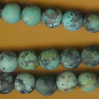 photo of Matte Finish African Turquoise - 8mm round