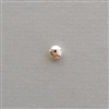 Sterling Silver Bead: roundelle 6 mm
