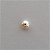 Sterling Silver Bead: roundelle 8 mm