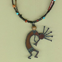 Kokopelli of First Mesa Necklace Kit
