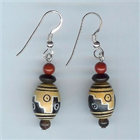 Kokopelli of First Mesa Earrings Kit