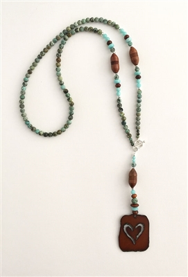 Photo of Sweetheart of the Rockies Necklace Kit