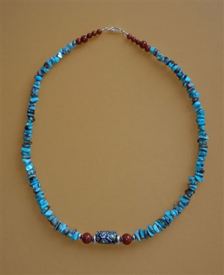 Trade Bead and Turquoise Necklace Kit