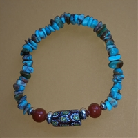 Trade Bead and Turquoise Bracelet Kit