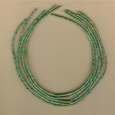 Campo Frio Turquoise Heishi from Mexico