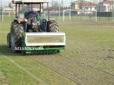"65"" x 12"" Deep, PTO Powered, COMBINATION DEEP TINE AERATOR & PLUGGER: Model C1656L"