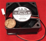 Sanyo Denki 12V DC Cooling Fan - Pico Ace 25 Brushless 109r0612f415