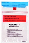 Specimen Bags Lab Seal® Tamper-Evident with Removable Biohazard Symbol