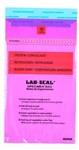 Specimen Bags Lab Seal®Tamper-Evident with Removable Biohazard Symbol - Purple Tint