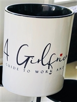 A Girlfriends Guide to Work and Play Coffee Mug