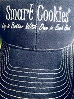 Smart Cookies Life is Better With One in Each Hand Ball Cap
