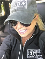 Official A Girlfriend's Guide to Work and Play LOGO hat
