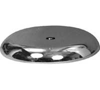 Round Chrome Counter Display Base