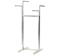 4-Way Adjustable Clothing Rack Displays