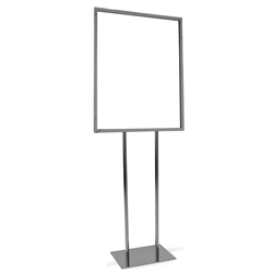 Flat Base Standing Sign Holders